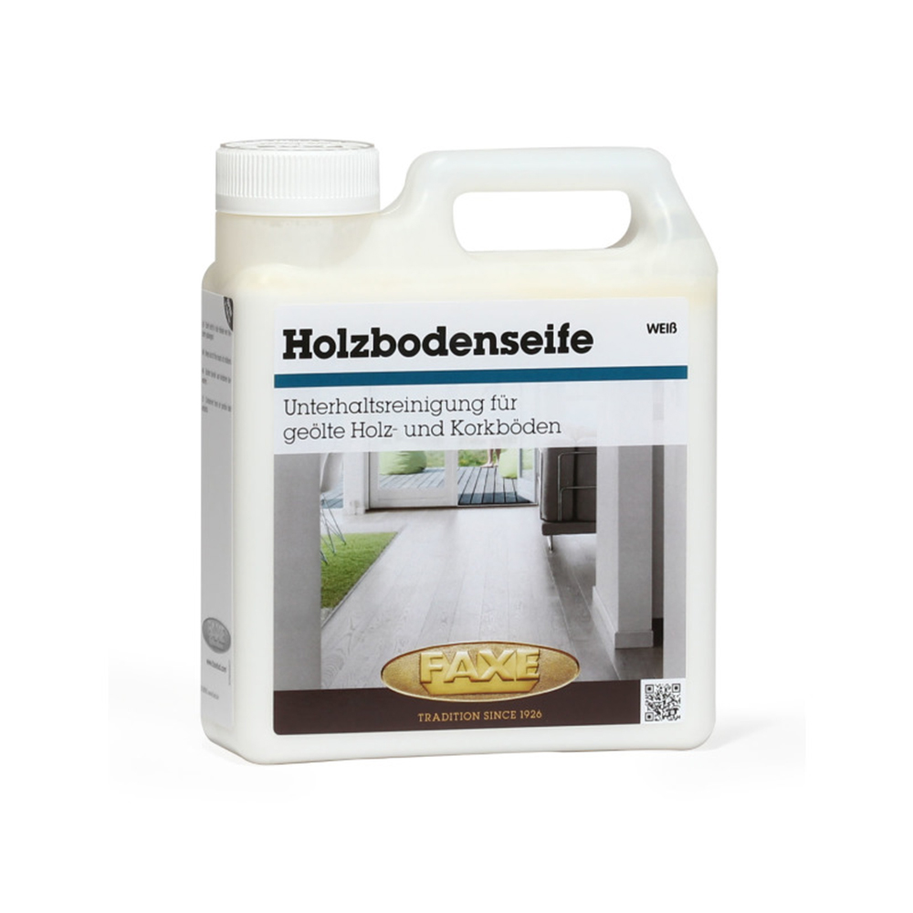FAXE Holzbodenseife weiss